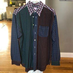 Brooks Brothers Multi Plaid button up shirt